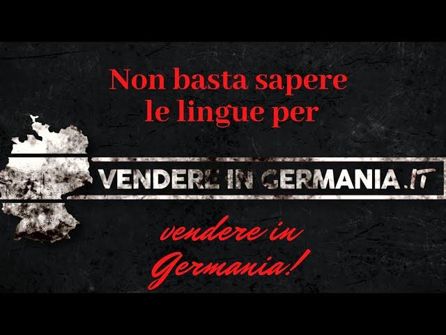 Non basta sapere le lingue per vendere in Germania!