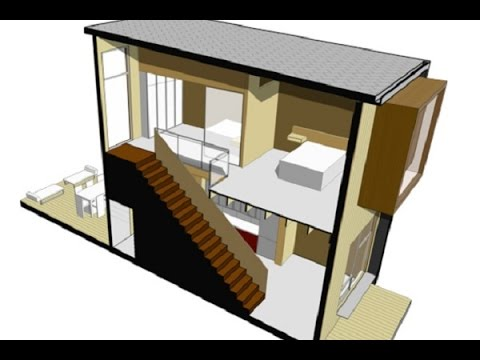 Planos de casas peque as modernas de un piso youtube for Casas modernas un piso