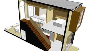 planos de casas pequenas pero modernas