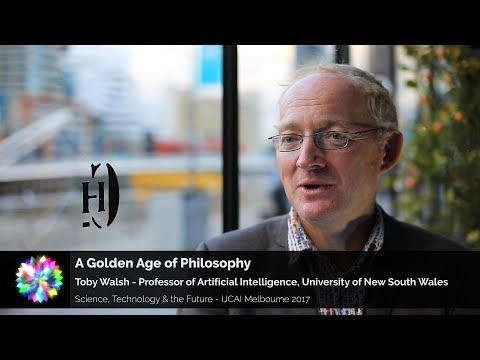 AI Ethics: A Golden Age of Philosophy – Toby Walsh