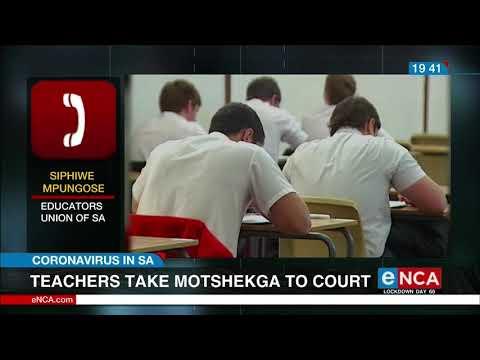 Teachers Take Angie Motshekga To Court