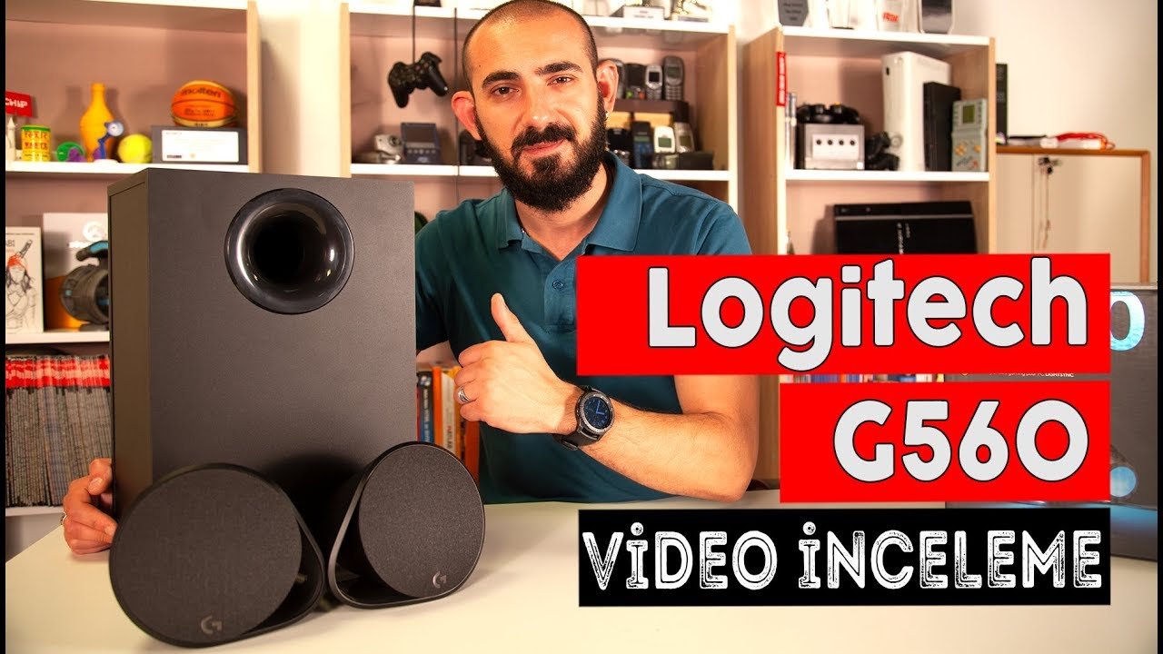 Logitech G560 İncelemesi - Lightsync Hoparlör