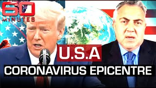 America's battle with coronavirus: highest infection rate in the world   60 Minutes Australia