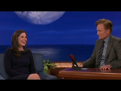 Erin Burnett talks politics, cereal with Conan
