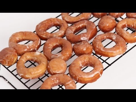 Homemade Glazed Donuts Recipe - Laura Vitale - Laura in the Kitchen Episode 600