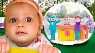 Inflatable Playhouse +More Nursery Rhymes & Kids Songs