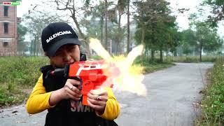 XGirl Nerf War: Perfect Plan Revenge X Girl ! SEAL US Cherry Nerf Guns Criminal Group