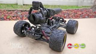 DJI Osmo + Drone Car test footage