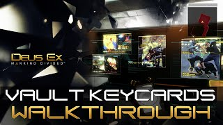 Vault Keycards are special access cards in Deus Ex Mankind Divided that allows you to enter vaults under the Palisade Bank In this video well show you