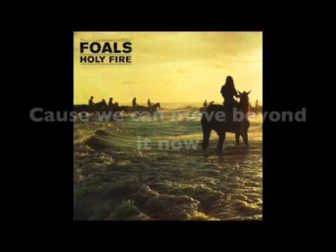 My Number - FOALS (lyrics on-screen)