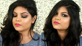 DIWALI 2017 MAKEUP TUTORIAL | KOLKATA INDIA