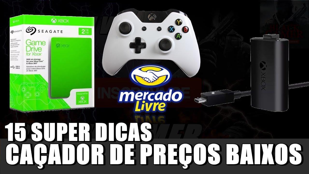 CAÇADOR DE PREÇOS BAIXOS MERCADO LIVRE ACESSÓRIOS XBOX ONE 19 07 17 ... 19fe846804019