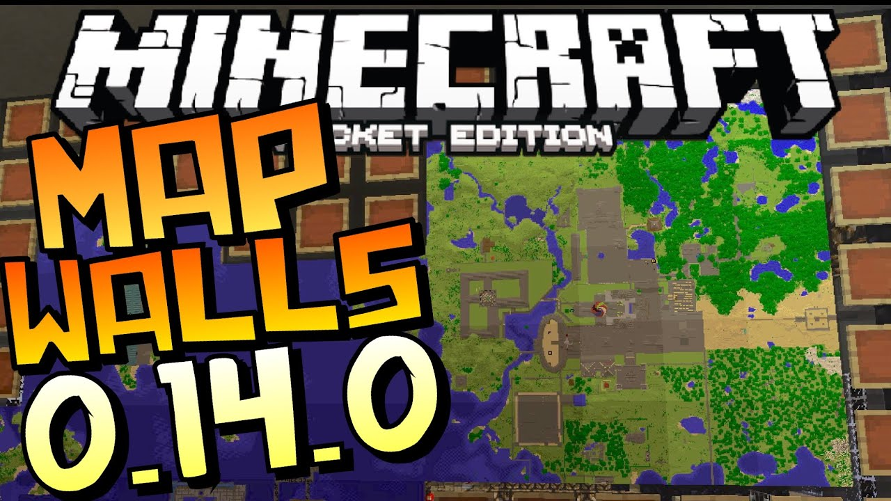 how to make a map in minecraft pe 0.14.0