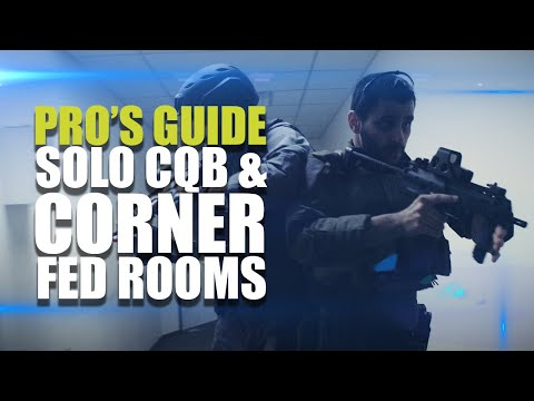 Pro's guide to CQB | Solo CQB & Corner fed rooms