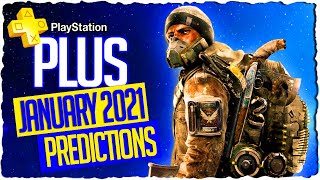 My personal ps plus january 2021 predictions. which games will be in the playstation lineup ? tell me comment section what you think...