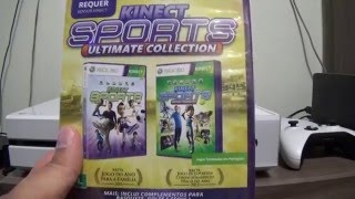 Unboxing - Kinect Sports: Ultimate Collection PT-BR XBOX 360