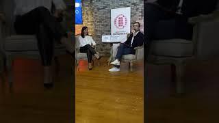 Марина Кравец, интервью в Останкино