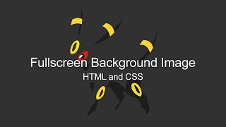 Fullscreen Landing Page Tutorial (HTML and CSS)(Here's a tutorial on how to create a clean, responsive fullscreen landing page using some simple HTML and CSS. Pastebin: http://pastebin.com/LZnGfEzx ..., 2016-06-06T04:37:19.000Z)