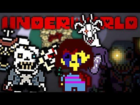 FRISK HAS FALLEN INTO THE DARKEST AU YET!!  Underworld: An Undertale  Game