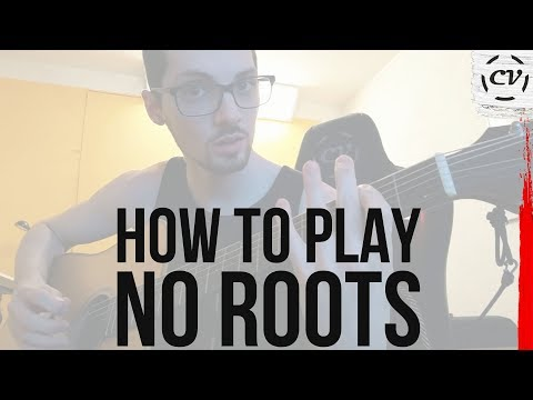 How To Play No Roots By Alice Merton (Chords & Bassline)| Tutorial