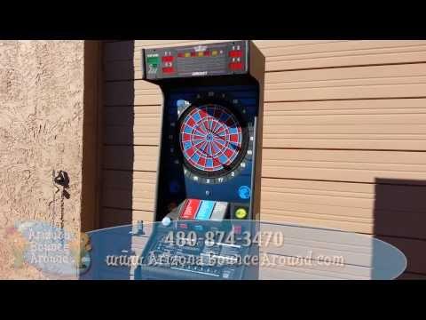 Electronic Dart Board Rentals Phoenix Arizona, Arcade Game Rentals AZ
