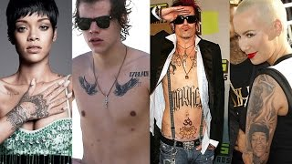 10 Celebrities With Too Many Tattoos