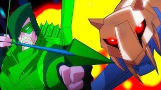 Бэтмен Unlimited Pоссия | Битва с Робоживотными: Бэтмен и Зеленая стрела