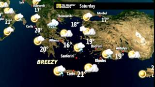 European Holiday Weather 25-28 April