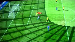 FIFA12 DEMO - Alexis Sanchez - Amazing Luck/Accurate Shot - Barcelona