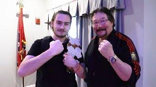 Meeting Ted DiBiase At Tri-Star Comic Con | Brandon Hodge Vlog #71