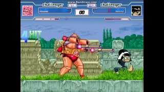 TBM MUGEN Match #13 - Krang (me) vs. Kitty Katswell