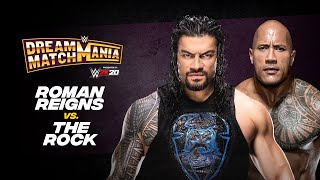 Roman Reigns and The Rock collide during WWE Dream Match Mania