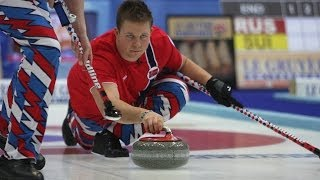 CURLING: NOR-FRA Euro Chps 2013 - Men Draw 2