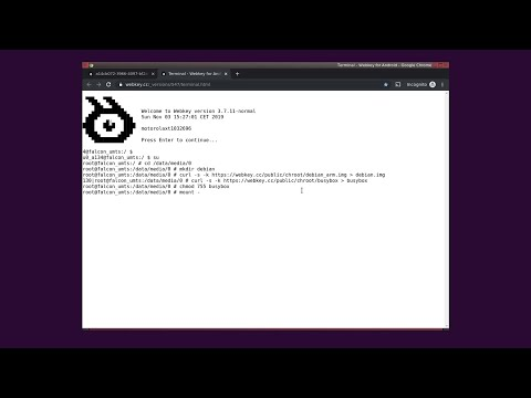 Terminal Tutorial. Create Chroot Environment On Android.