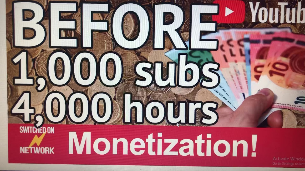 start earning online today / How To Get Paid On YouTube BEFORE  1,000 SUBS  4,000 HOURS  2020