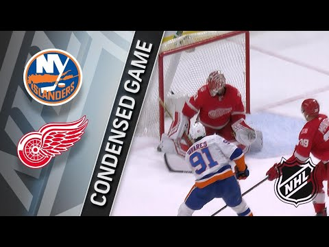 04/07/18 Condensed Game: Islanders @ Red Wings