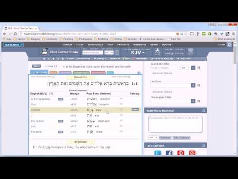 How To Use Strong's Concordance To Understand a Word in Context