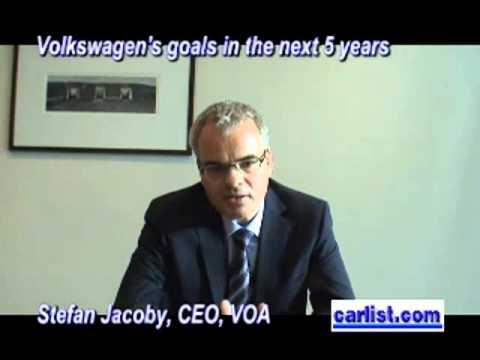 Stefan Jacoby, CEO, Volkswagen of America