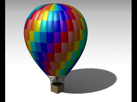 Catia V5 tutorial for beginner: An air balloon   Generative Shape Design