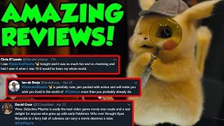Pokemon Detective Pikachu Movie Reviews Are INCREDIBLY POSITIVE!