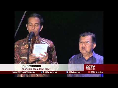 Joko Widodo wins Indonesia presidential election