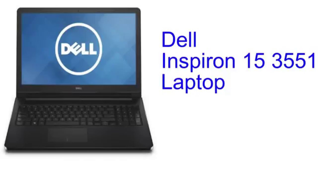 Dell Inspiron 15 3551 Laptop Specification [INDIA]