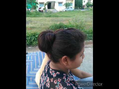 Chote Balo ki easy hairstyle - YouTube