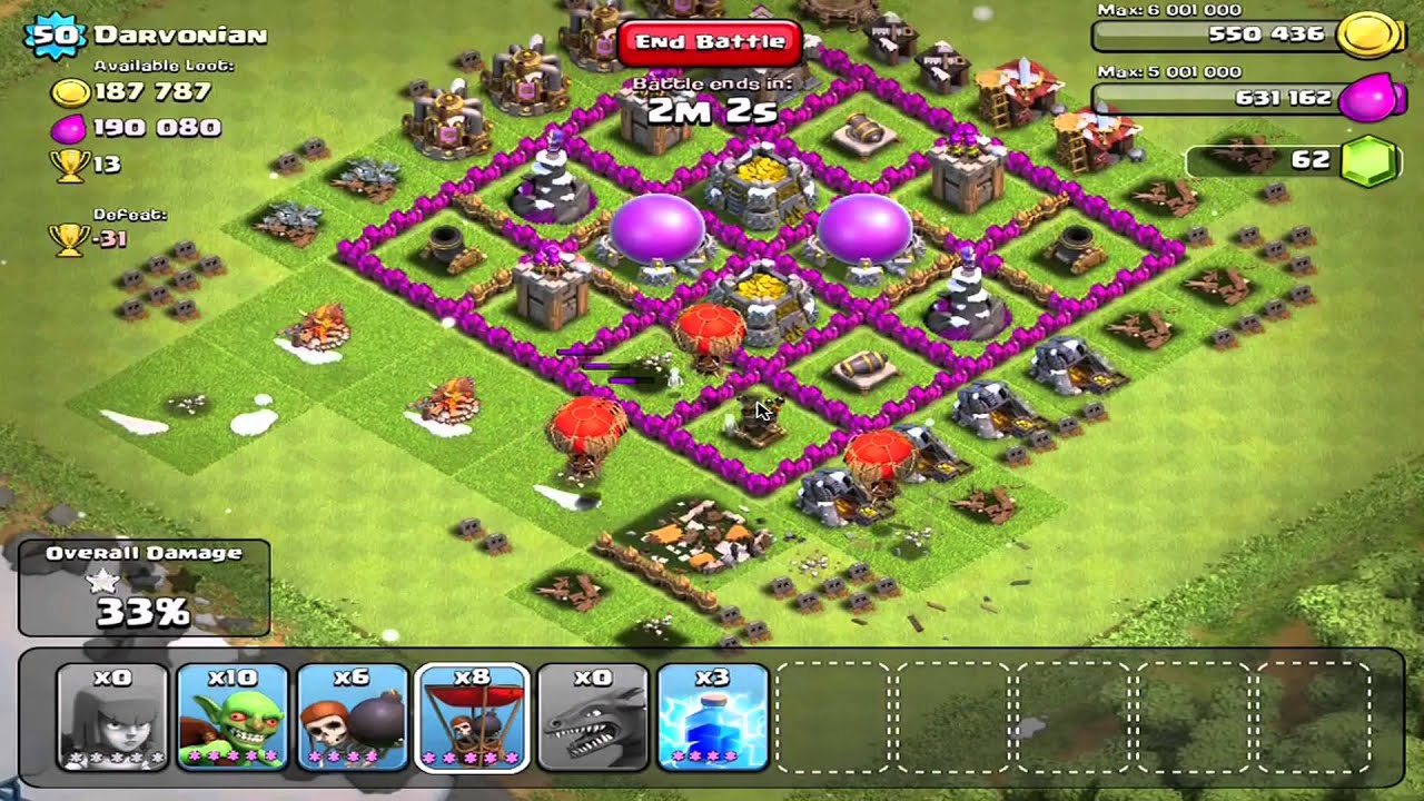 Clash of Clans - Heroic Air Defense - YouTube