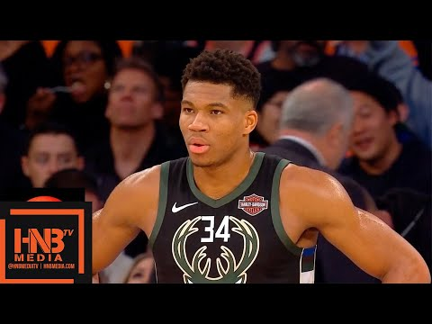 Milwaukee Bucks vs New York Knicks 1st Half Highlights | 12.01.2018, NBA Season