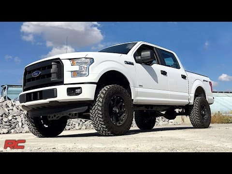 2015-2018 Ford F-150 2WD 6-inch Suspension Lift Kit by Rough Country