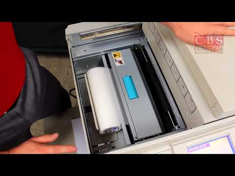 DUPLO DP-330L   How to Change out Masters and Ink   DUPLO TRAINING, Video 2 [2]