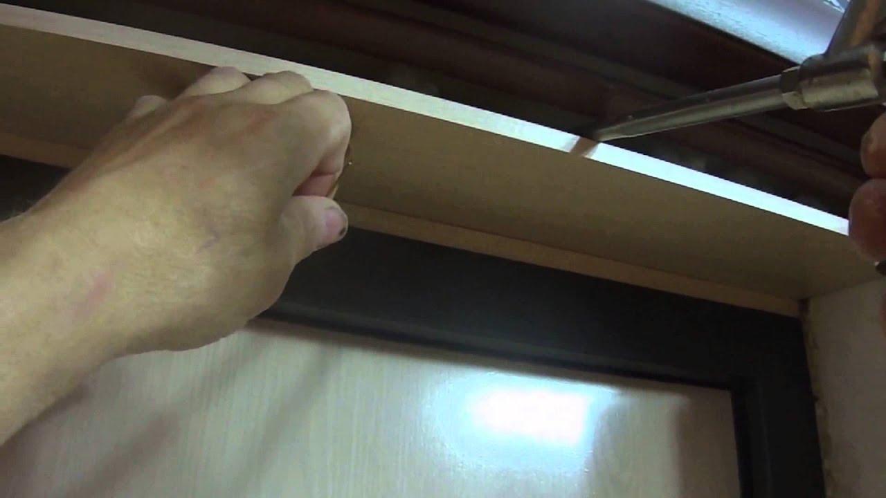 обивка металлических дверей панелями МДФ, установка замков, врезка .