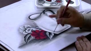 Pintura em tecido Parte 2/2