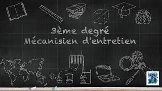 Option Mécanicien(ne) d'entretien - Collège Saint-Augustin